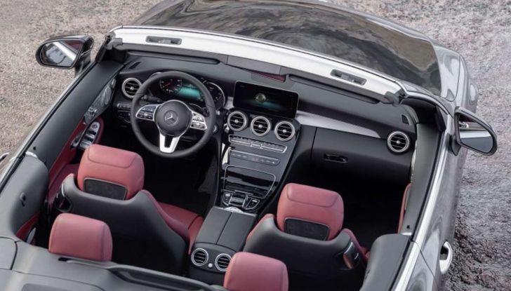 Mercedes Classe C Coupé e Cabrio 2018: più sportive ed efficienti - Foto 6 di 19