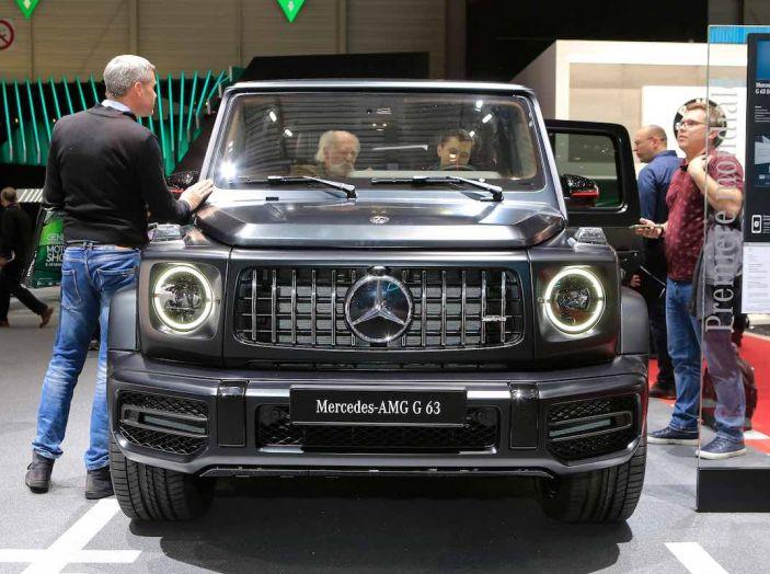 Nuova Mercedes Classe G 2018, prezzi e motori della regina dell'off-road - Foto 2 di 15