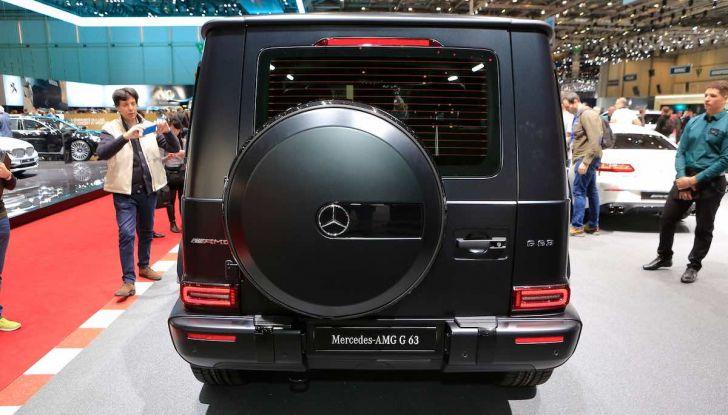 Nuova Mercedes Classe G 2018, prezzi e motori della regina dell'off-road - Foto 11 di 15