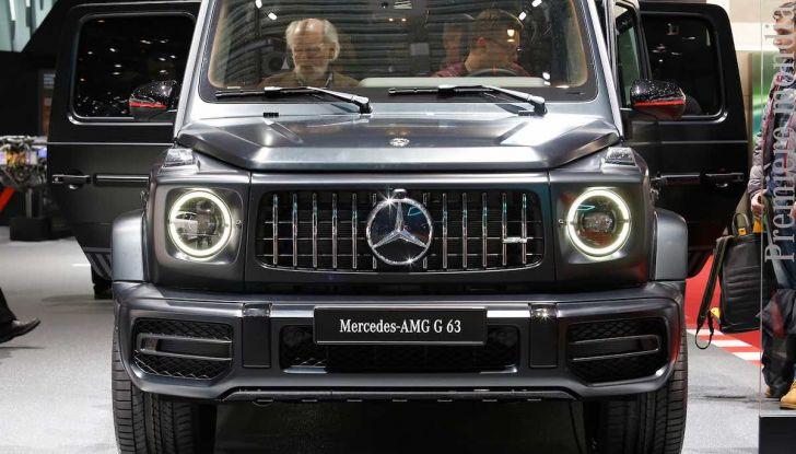 Nuova Mercedes Classe G 2018, prezzi e motori della regina dell'off-road - Foto 13 di 15