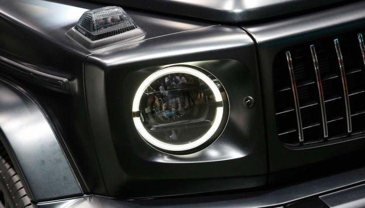 Nuova Mercedes Classe G 2018, prezzi e motori della regina dell'off-road - Foto 14 di 15
