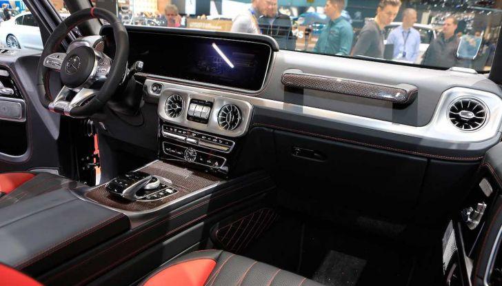 Nuova Mercedes Classe G 2018, prezzi e motori della regina dell'off-road - Foto 5 di 15