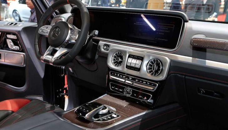 Nuova Mercedes Classe G 2018, prezzi e motori della regina dell'off-road - Foto 6 di 15