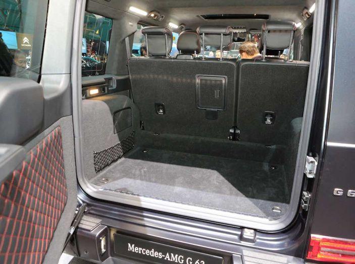 Nuova Mercedes Classe G 2018, prezzi e motori della regina dell'off-road - Foto 7 di 15
