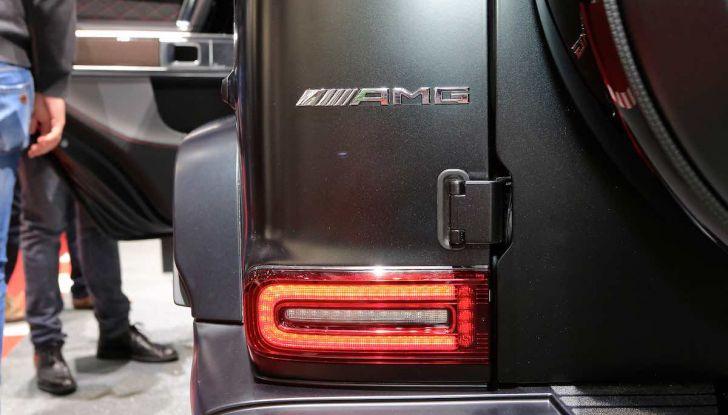 Nuova Mercedes Classe G 2018, prezzi e motori della regina dell'off-road - Foto 8 di 15