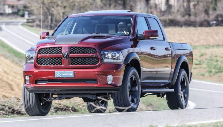 Militem RAM 1500 RX 2018: prova su strada del Pick-Up oltre il lusso - Foto 11 di 46