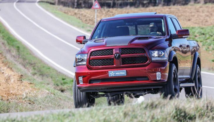 Militem RAM 1500 RX 2018: prova su strada del Pick-Up oltre il lusso - Foto 12 di 46