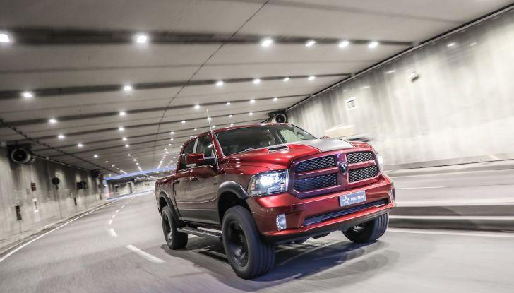 Militem RAM 1500 RX 2018: prova su strada del Pick-Up oltre il lusso - Foto 40 di 46