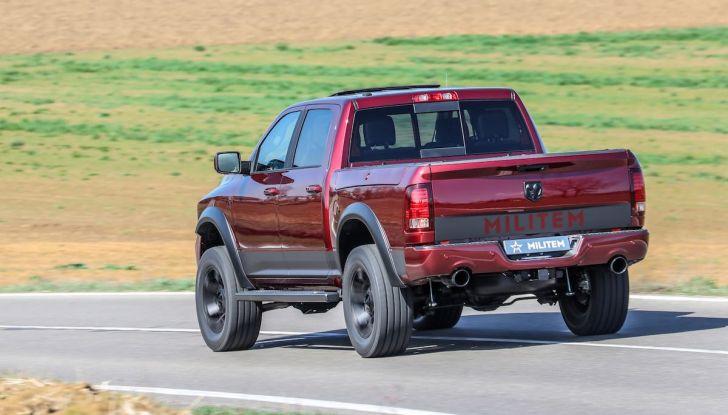 Militem RAM 1500 RX 2018: prova su strada del Pick-Up oltre il lusso - Foto 7 di 46