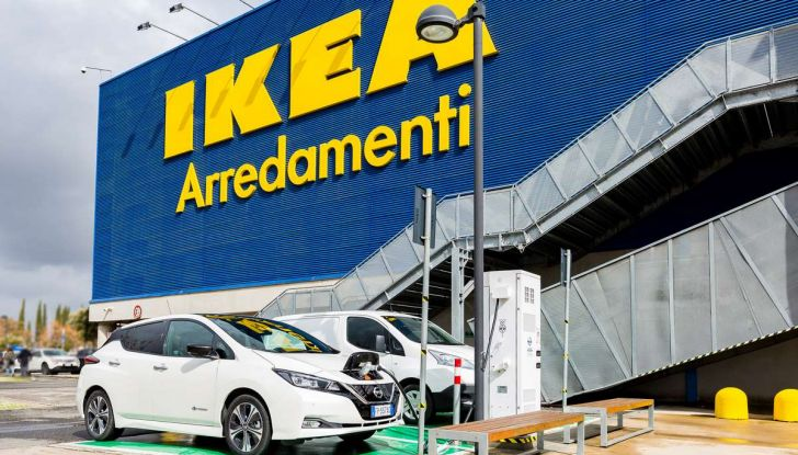 Nissan e IKEA promuovono la mobilità elettrica in Italia - Foto 12 di 12