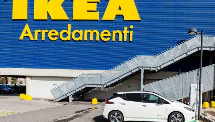 Nissan e IKEA promuovono la mobilità elettrica in Italia - Foto 4 di 12