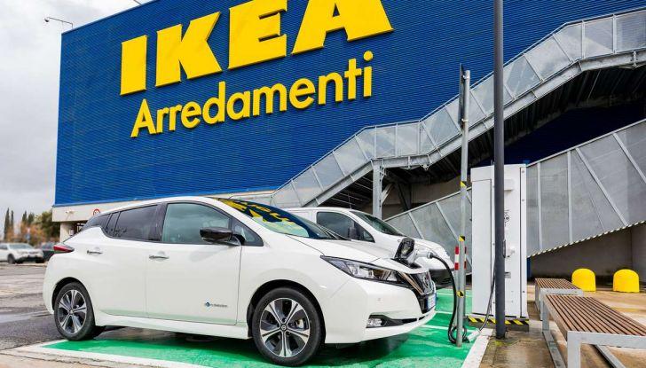 Nissan e IKEA promuovono la mobilità elettrica in Italia - Foto 5 di 12