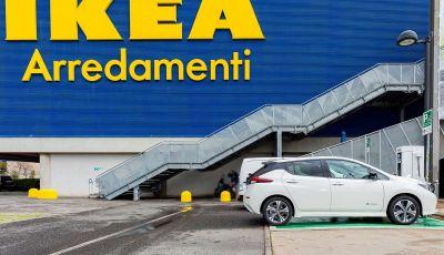 IKEA dal 2025 utilizzerà solo auto elettriche per i trasporti dei mobili
