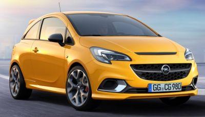Opel Corsa GSi: la sportiva torna a listino dopo 25 anni