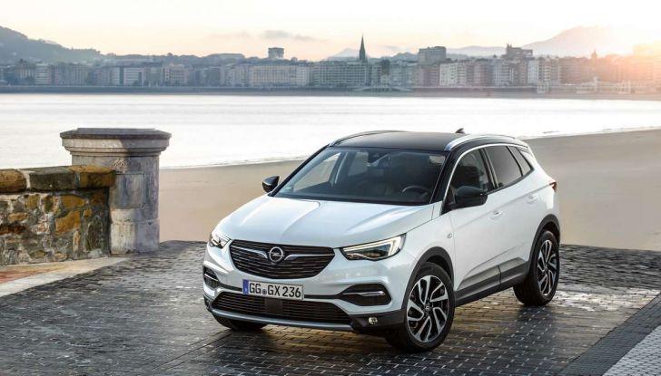 Opel Grandland X con nuovo motore 1.6 turbo benzina da 180 CV - Foto 8 di 26