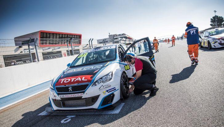 Il trofeo monomarca europeo Peugeot 308 Racing Cup - Foto 1 di 3