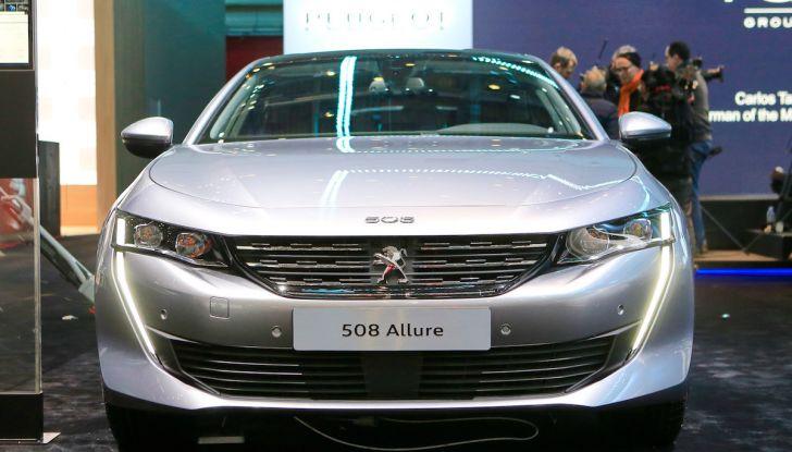 Peugeot 508 2018, la berlina del Leone per rinnovare il segmento - Foto 3 di 20