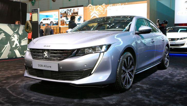 Peugeot 508 2018, la berlina del Leone per rinnovare il segmento - Foto 1 di 20