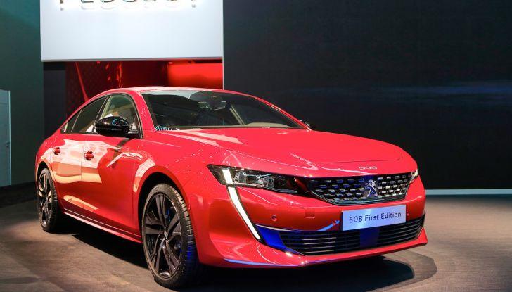 Peugeot 508 2018, la berlina del Leone per rinnovare il segmento - Foto 17 di 20