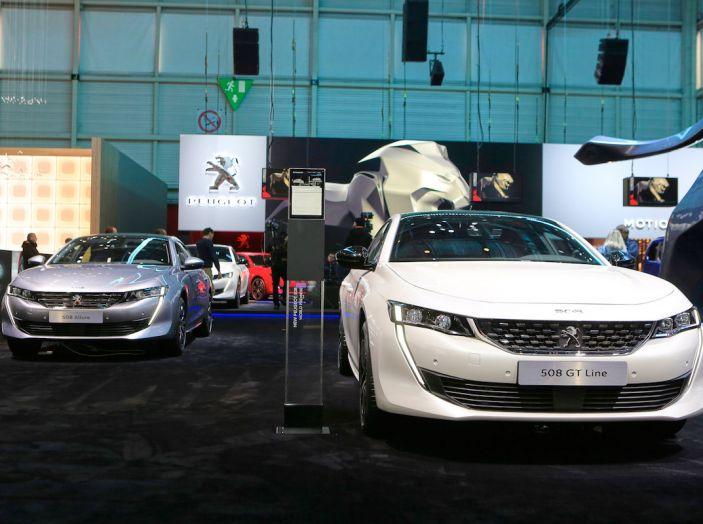 Peugeot 508 2018, la berlina del Leone per rinnovare il segmento - Foto 19 di 20