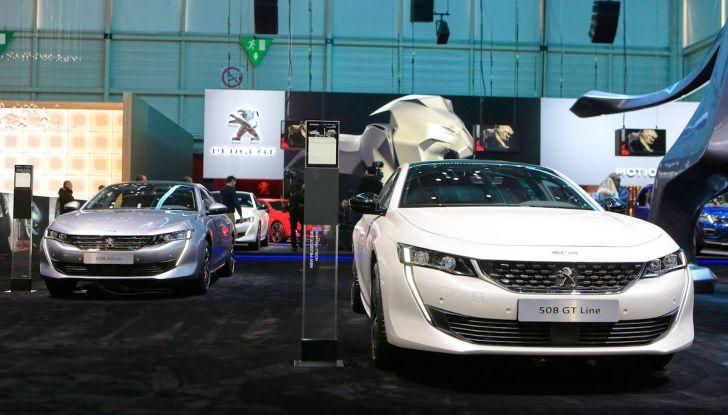 Peugeot dà il via alla rivoluzione elettrica - Foto 19 di 20