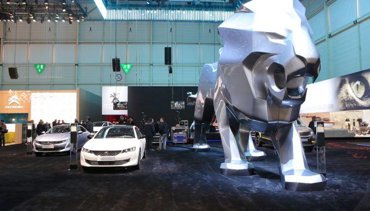 Peugeot dà il via alla rivoluzione elettrica - Foto 20 di 20