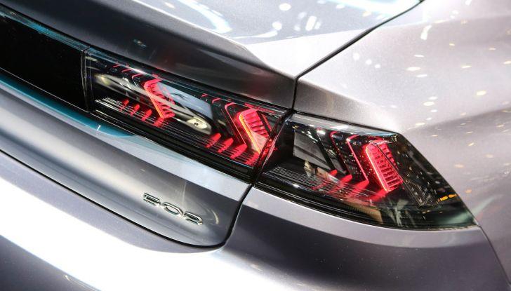 Peugeot 508 2018, la berlina del Leone per rinnovare il segmento - Foto 7 di 20
