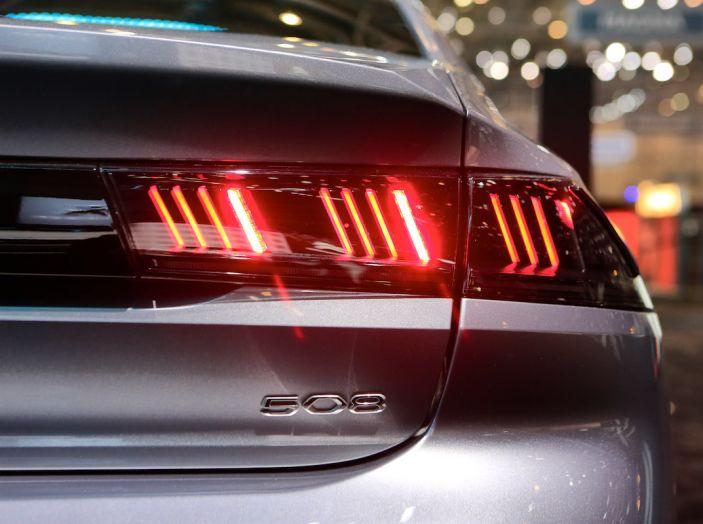 Peugeot 508 2018, la berlina del Leone per rinnovare il segmento - Foto 8 di 20