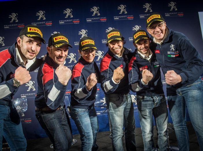 Rally del Ciocco – Voce ai piloti Peugeot prima della gara - Foto 1 di 1