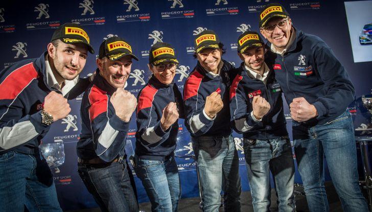 Rally del Ciocco – Voce ai piloti Peugeot prima della gara - Foto  di