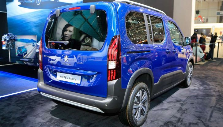 Peugeot Rifter, a Ginevra debutta l'erede del Partner - Foto 4 di 8