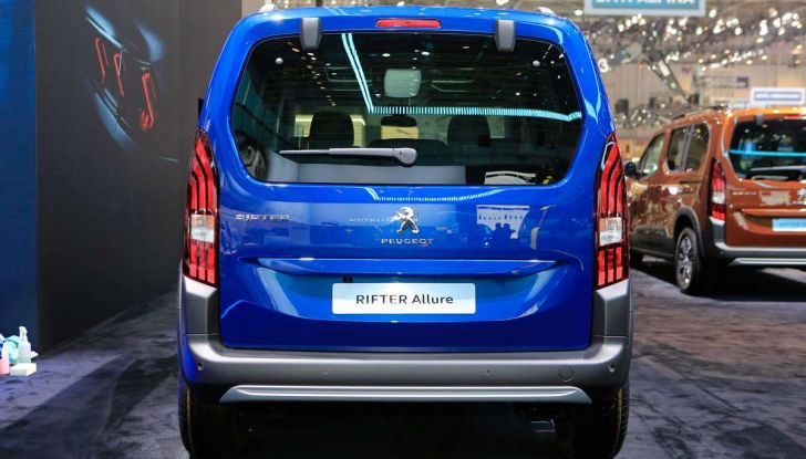 Peugeot Rifter, a Ginevra debutta l'erede del Partner - Foto 5 di 8