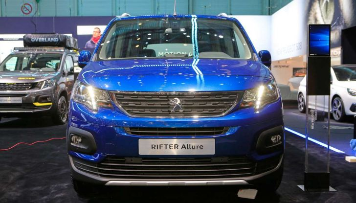 Peugeot Rifter, a Ginevra debutta l'erede del Partner - Foto 7 di 8