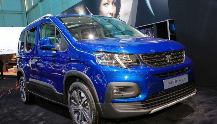 Peugeot Rifter, a Ginevra debutta l'erede del Partner - Foto 8 di 8