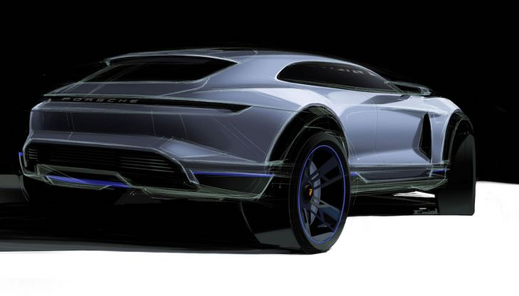 Porsche Taycan, questo il nome della 100% elettrica Mission E - Foto 13 di 34