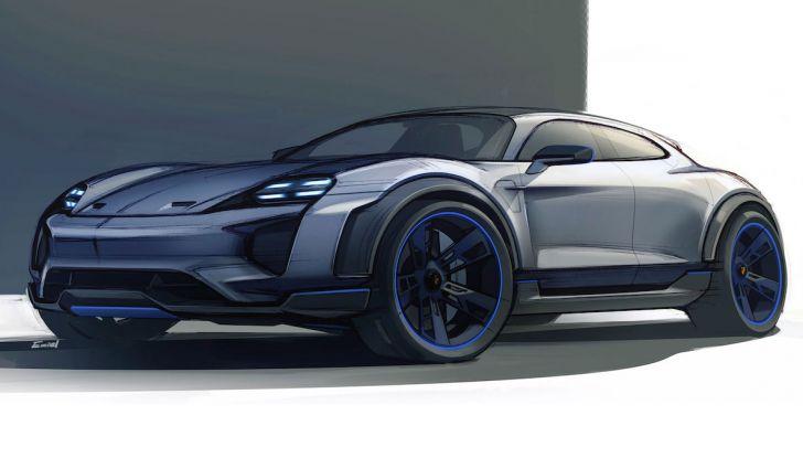 Porsche Taycan, questo il nome della 100% elettrica Mission E - Foto 14 di 34