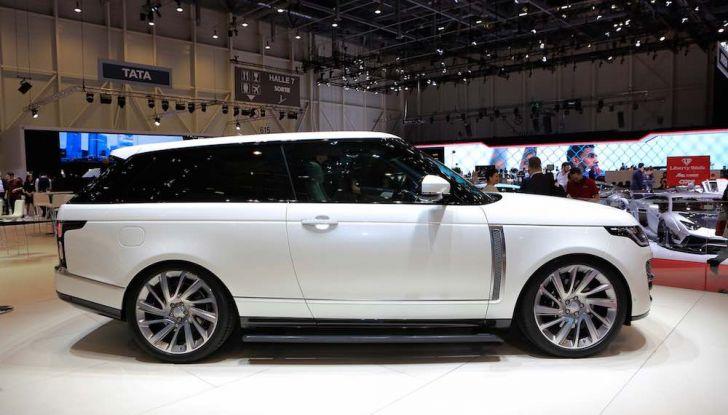 Range Rover SV Coupé 2018: 999 esemplari per il 70° anniversario - Foto 3 di 16