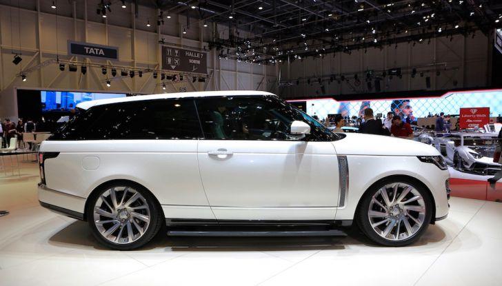 Range Rover SV Coupé 2018: 999 esemplari per il 70° anniversario - Foto 5 di 16