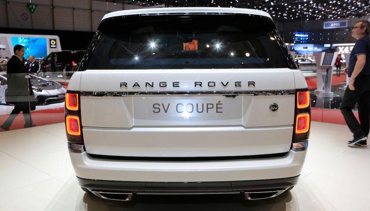 Range Rover SV Coupé 2018: 999 esemplari per il 70° anniversario - Foto 13 di 16