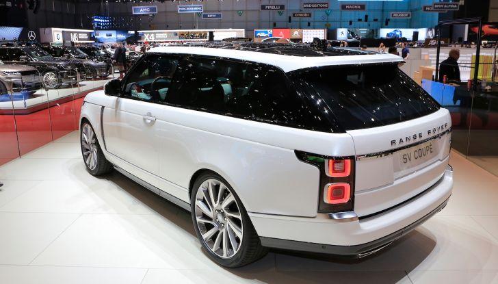Range Rover SV Coupé 2018: 999 esemplari per il 70° anniversario - Foto 14 di 16