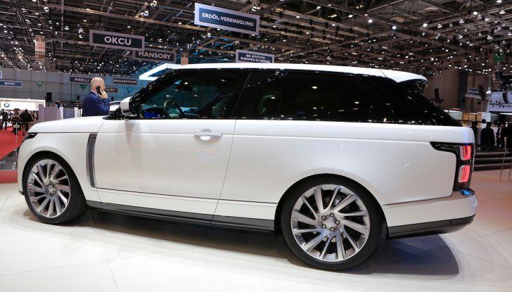 Range Rover SV Coupé 2018: 999 esemplari per il 70° anniversario - Foto 15 di 16