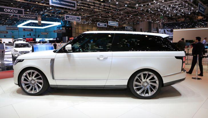 Range Rover SV Coupé 2018: 999 esemplari per il 70° anniversario - Foto 16 di 16