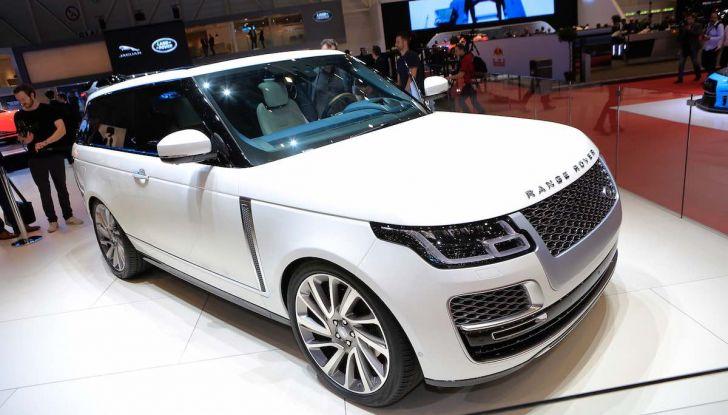Range Rover SV Coupé 2018: 999 esemplari per il 70° anniversario - Foto 4 di 16