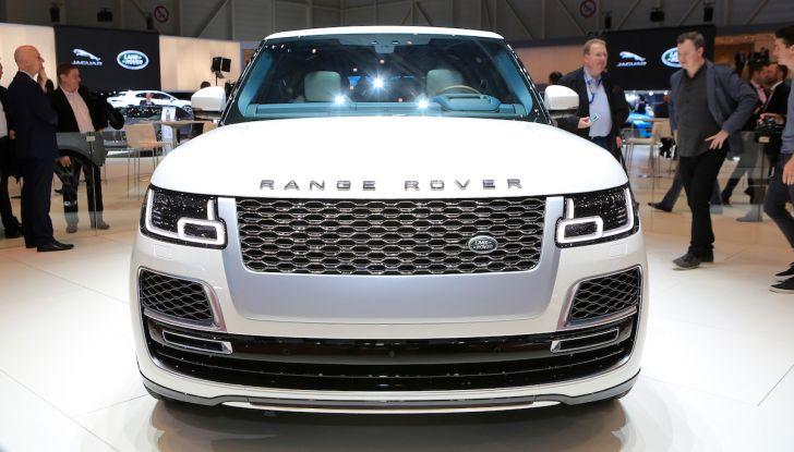 Range Rover SV Coupé 2018: 999 esemplari per il 70° anniversario - Foto 7 di 16