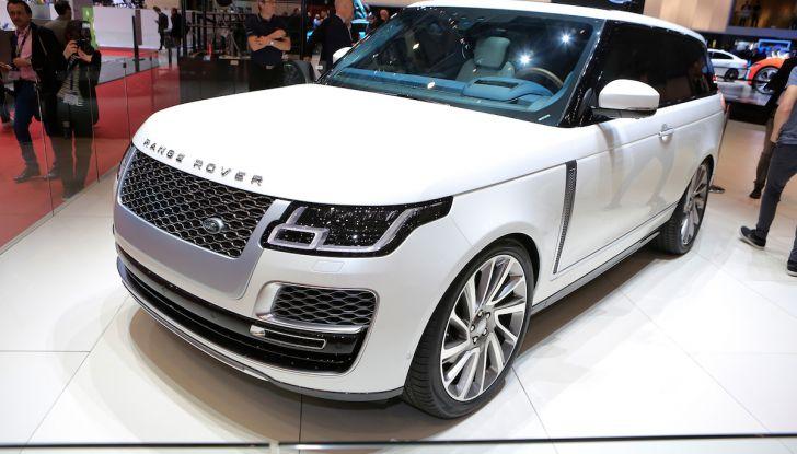 Range Rover SV Coupé 2018: 999 esemplari per il 70° anniversario - Foto 1 di 16