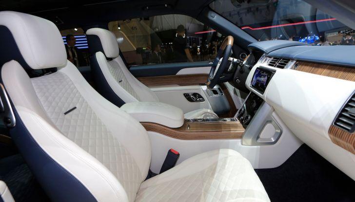 Range Rover SV Coupé 2018: 999 esemplari per il 70° anniversario - Foto 9 di 16