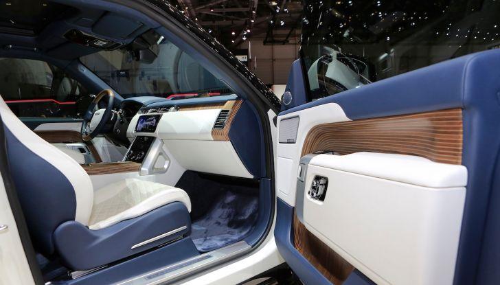 Range Rover SV Coupé 2018: 999 esemplari per il 70° anniversario - Foto 11 di 16