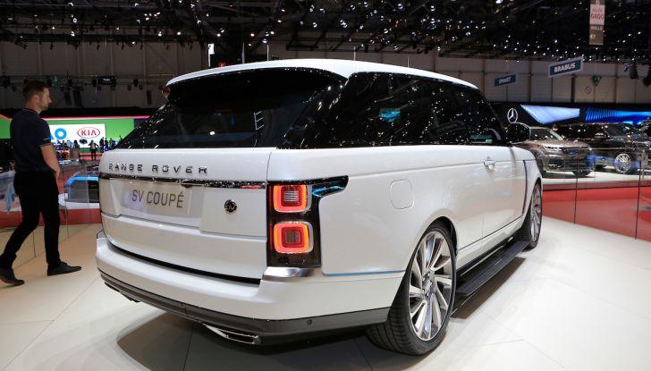 Range Rover SV Coupé 2018: 999 esemplari per il 70° anniversario - Foto 12 di 16