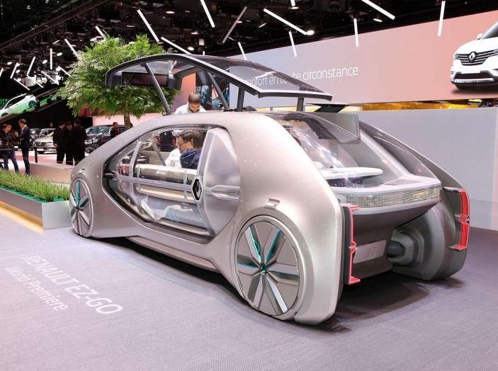Renault EZ-GO, l'auto condivisa a guida autonoma del futuro - Foto 5 di 10