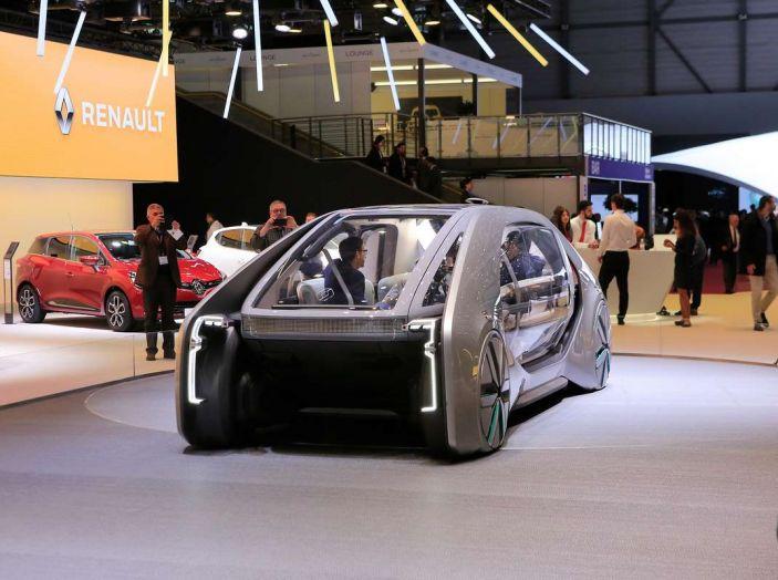 Renault EZ-GO, l'auto condivisa a guida autonoma del futuro - Foto 6 di 10